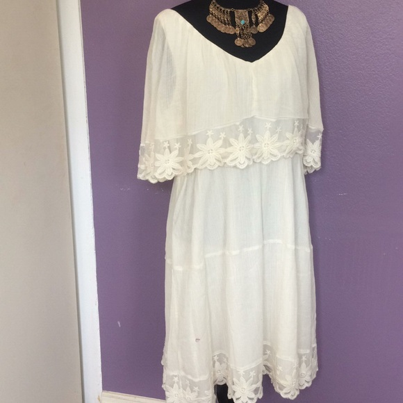 Dresses & Skirts - Boho, Ripple Gauzy casual dress